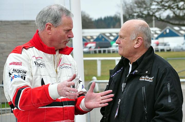 The original Stig - Blomqvist (right)