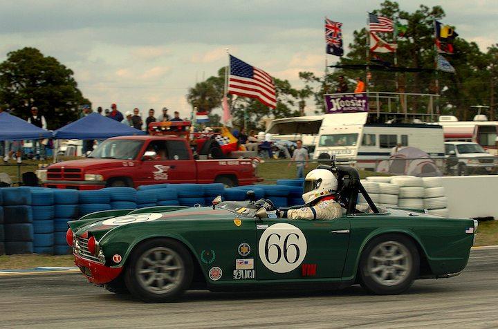 1962 Triumph TR4, Warren Aplin