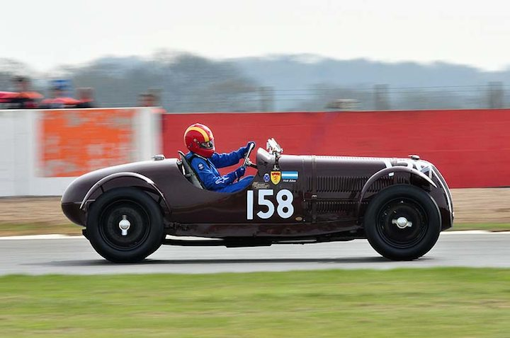 Miss Rosanagh Eden 1939 Alfa Romeo Sports