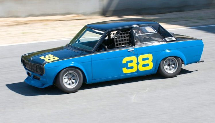 Troy Ermish and his 1970 Datsun 510 made a very quick combination.