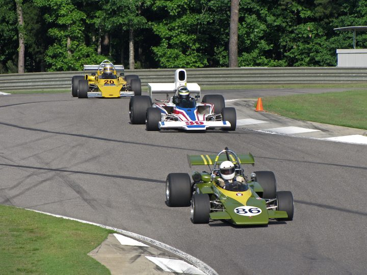 GRD 272 F2 - Michael Snowdon, Lola T332 - Tom Malloy and Royale RP-20 - Andy Gilberg