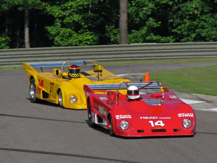 Lola T294 - Peter Read and Lola T290 - Keith Frieser