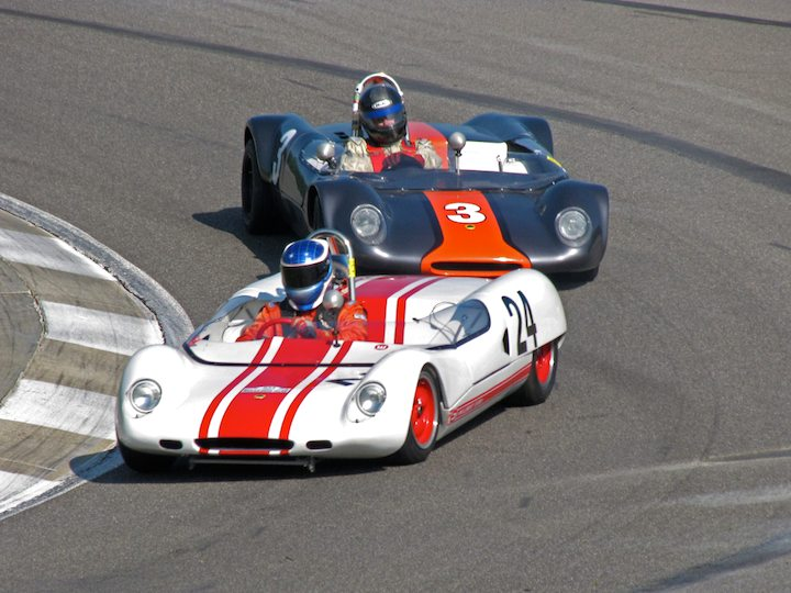 Lotus 23B - Peter Stoneberg and Lotus 23C - David Olson