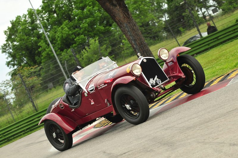 2nd overall was the 1933 Alfa Romeo 6C 1500 Gran Sport of Luciano Viaro and Mark Gessler