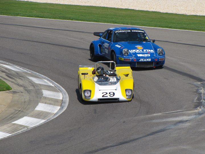 Lola T212 - Jeffrey Anderson and 1974 Porsche 911 RSR - Robert Newman