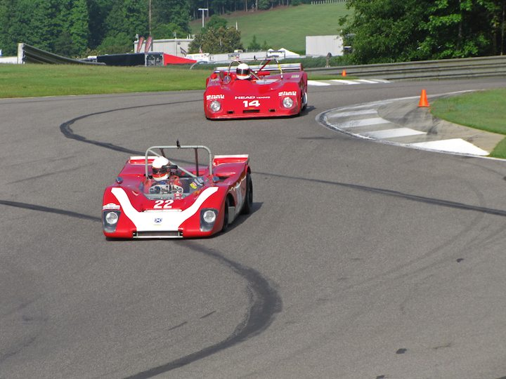 Brotherly fun - Lola T212 - Steven Read and Lola T294 - Peter Read