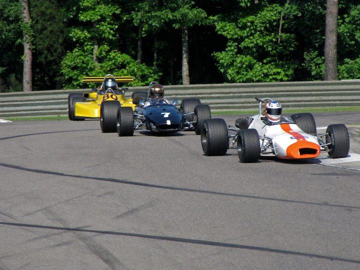 Brabhams BT29 - Dave Handy, Brabham BT23C - Ted Wentz and March 80A - Jim Kelleher