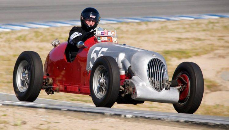 Ernie Page's 1933 MG Li S/S.