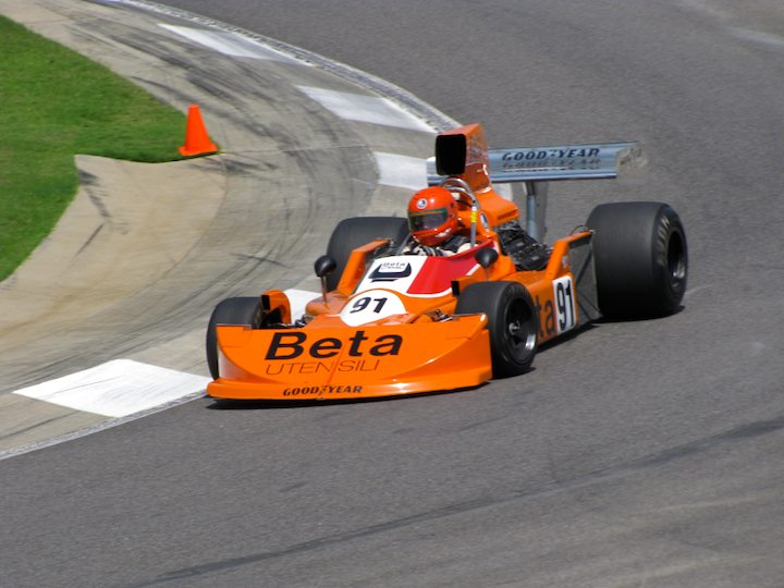 1976 March 761-08, ex-Vittorio Brambila, driven by James King