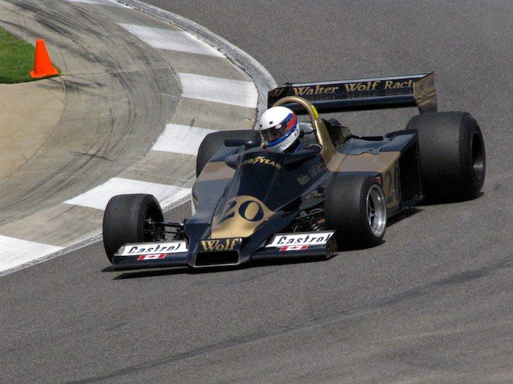 Ex-Jody Scheckter Wolf WR2/4 - John Anderson
