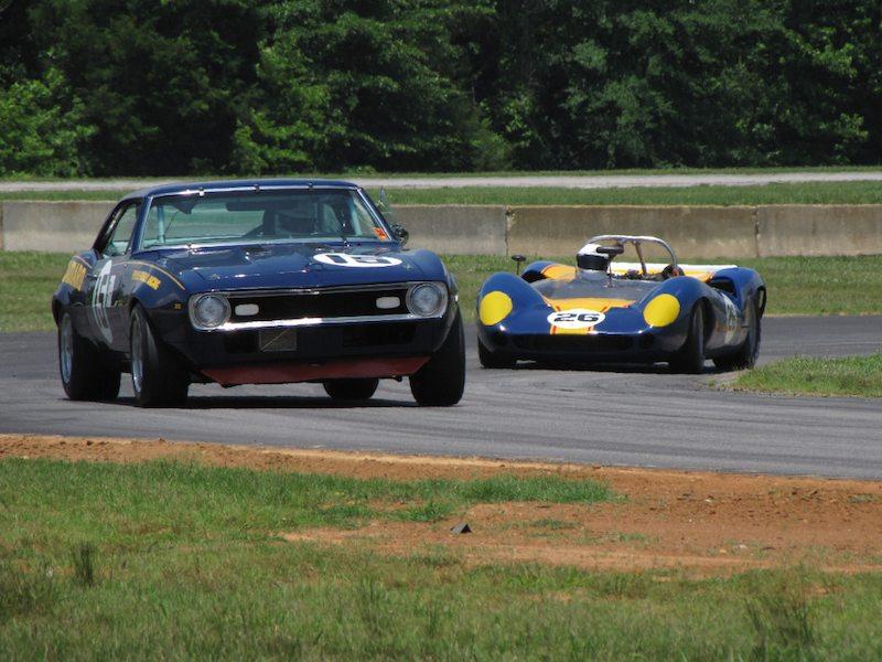 Sunoco Pair - Camaro and Lola T70 MkII