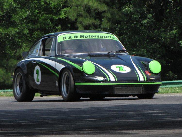 Porsche 911RS - Dan McChesney