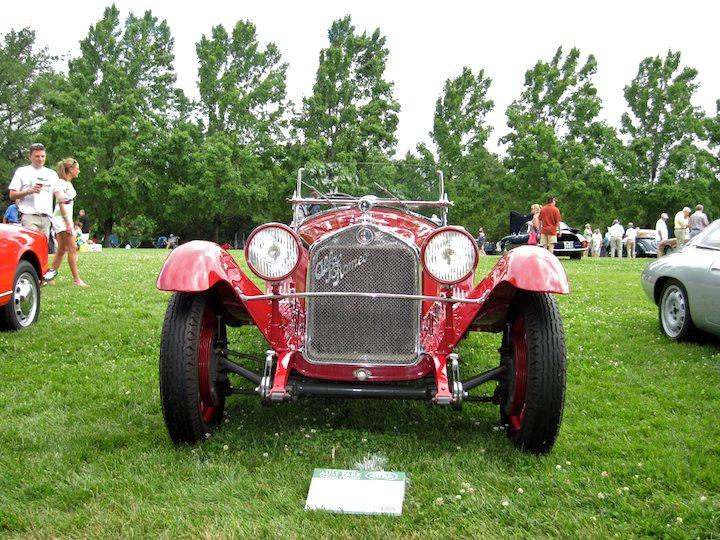 1931 Alfa Romeo 6C 1750 Grand Sport Zagato