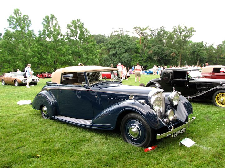1938 Bentley Darby by H.J. Mulliner