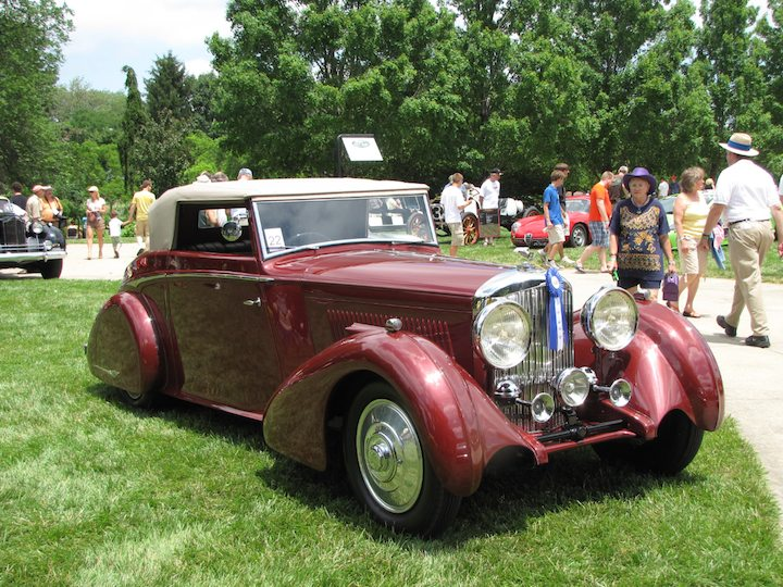1934 Bentley 3 1/2 Litre H.J. Mulliner Drophead Coupe