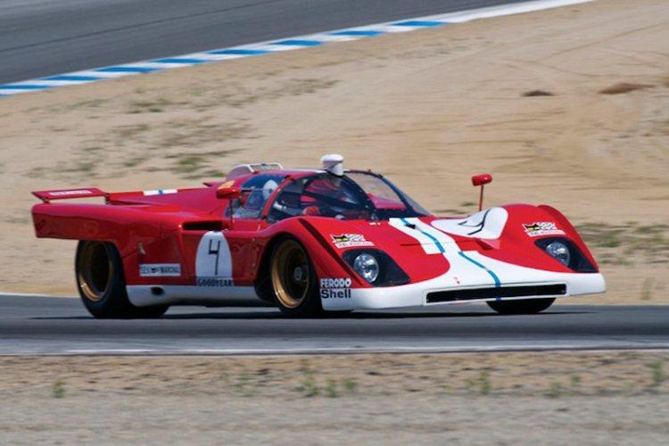 Ferrari 512M driven by Bob Earl.