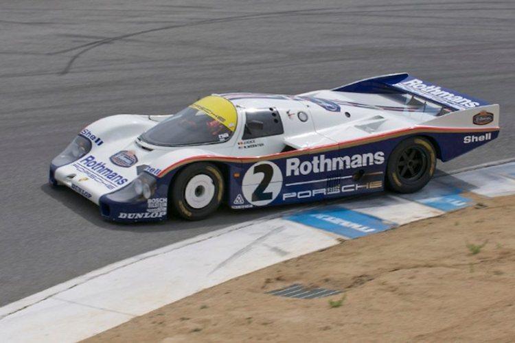 Ransom Webster's classic 1982 Porsche 962.