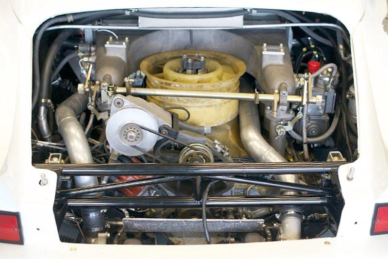 3.0 litre, twin turbo flat 6 in Bruce Canepa's Porsche 935