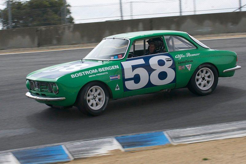 Jon Norman teamed with his 1971 Alfa Romeo GTV make perhaps the quickest GTV team around.