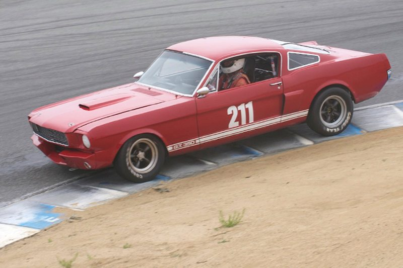 Kenny Epsman in his Shelby 350GT
