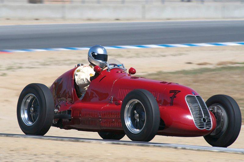 Maserati 4CL driven by Mark Gilles and Paddins Dowling