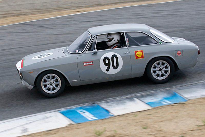 David Buchanan's 1966 Alfa Romeo GTV.