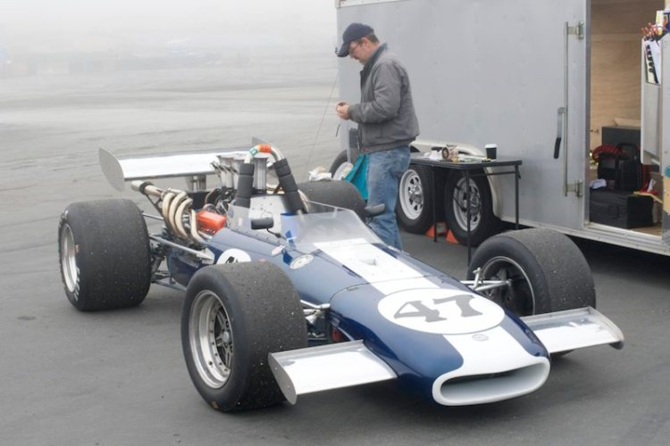 Eagle F5000 in the pits