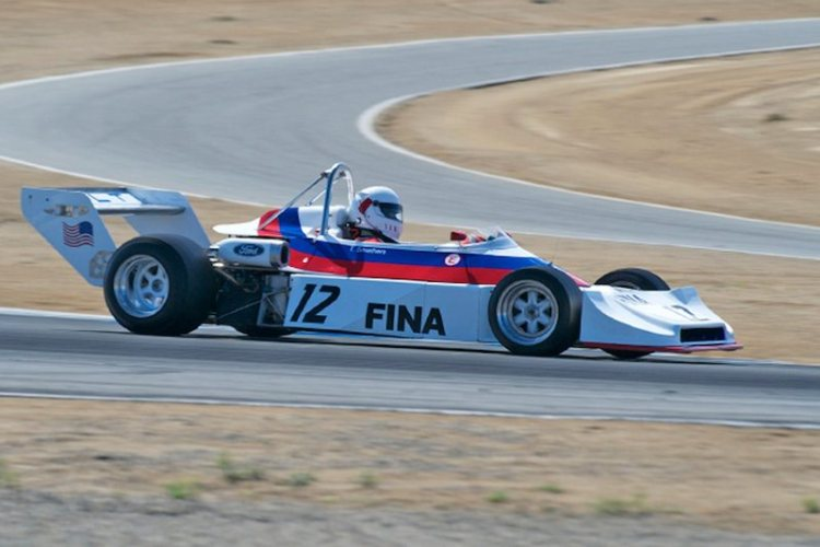 Todd Smathers in his quick 1978 Ralt RT1.