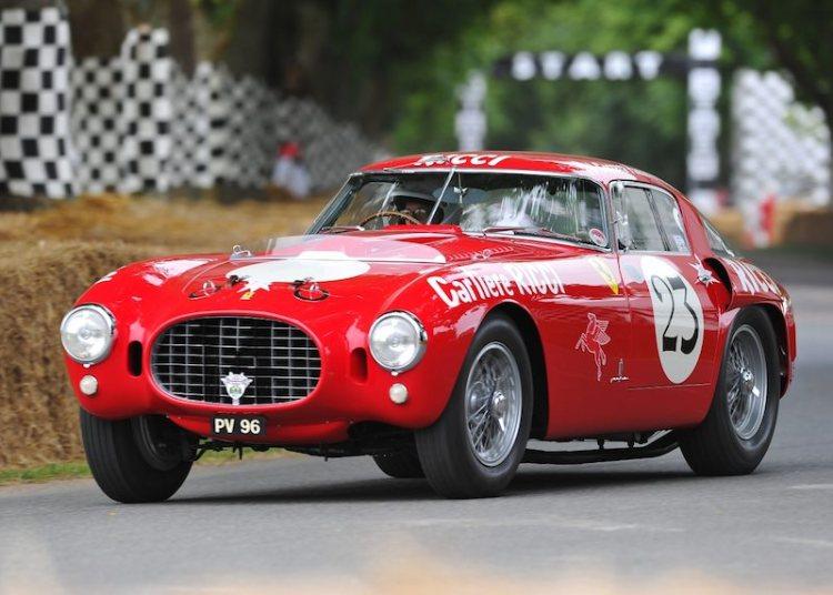 1953 Ferrari 375 MM Berlinetta, ex-Carrera Panamericana
