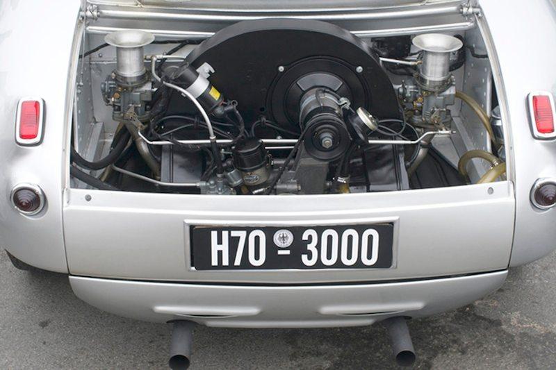 Porsche Glockler engine bay