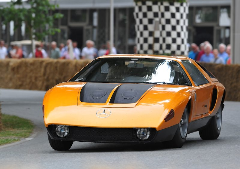 Mercedes-Benz C111 Concept Car