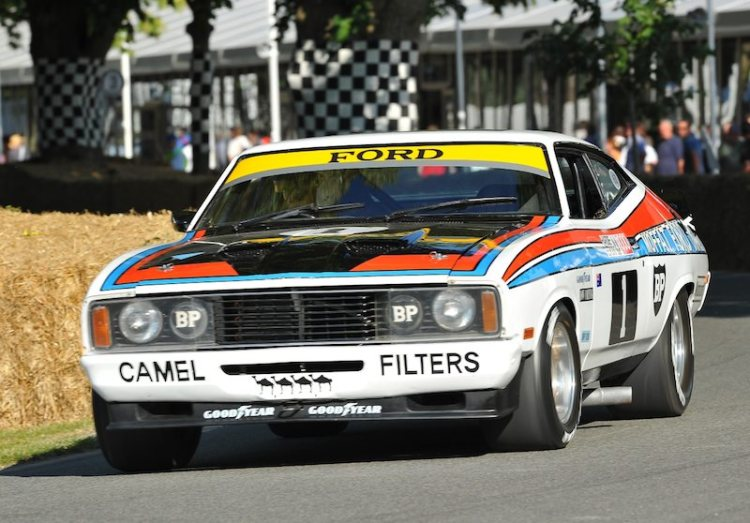 Ford Falcon XC GS 500, winner of the 1977 Bathurst 1000