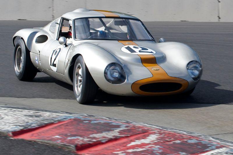 Geoff Mattei's 1965 Ginetta G12 1600cc.
