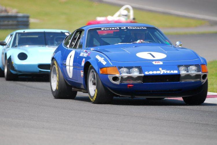 #1-Ferrari Daytona of Lorne Leibel.