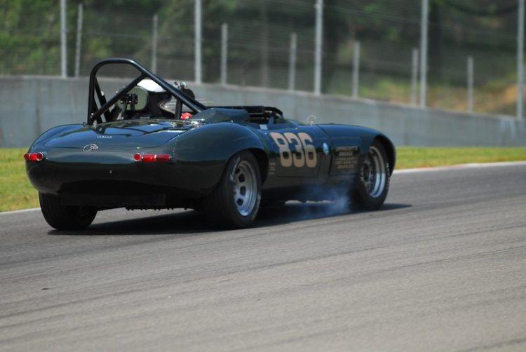 #836- Terry Lippincott Jaguar XKE.