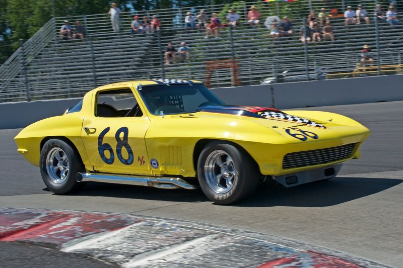 Fast and beautiful - the 1967 Corvette of Curt Kaliberg.