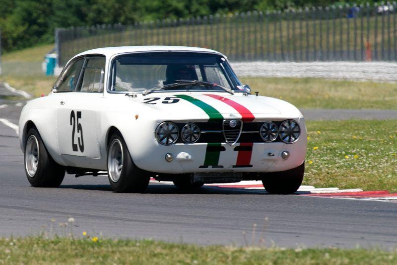 1968 Alfa Romeo GTAM of Fred Della Noce.