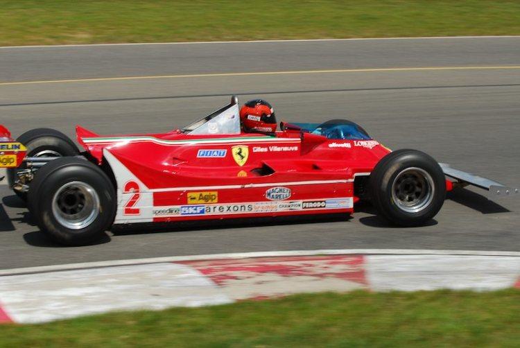 #2- Bud Moeller Ferrari 312T5.