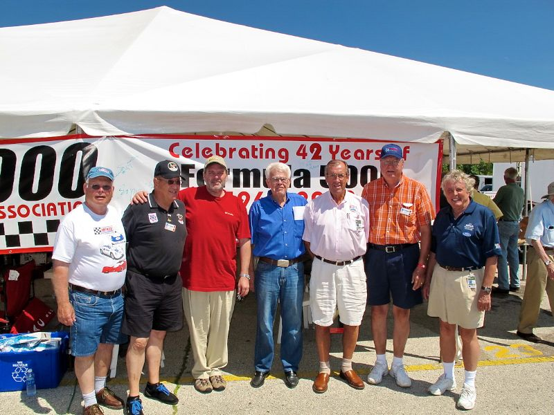 Celebrity guests and participants at Road America