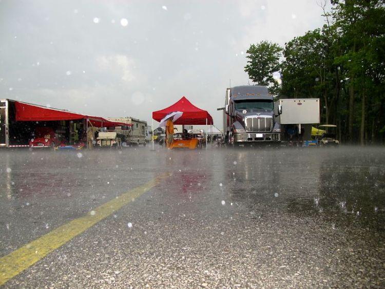 Rain on Sunday
