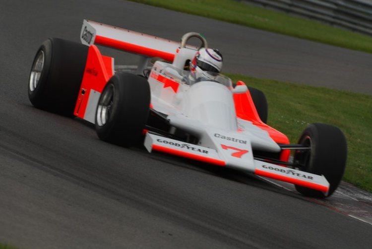 #7- Zak Brown McLaren M28.