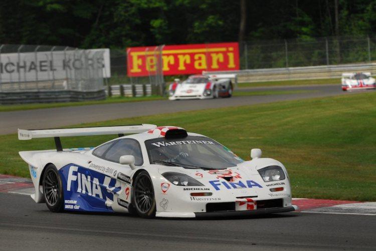 #9- Jacques Villeneuve, McLaren GTR.