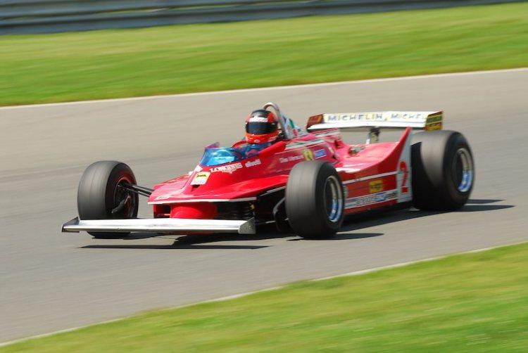 #2- Bud Moeller, Ferrari 312T5.