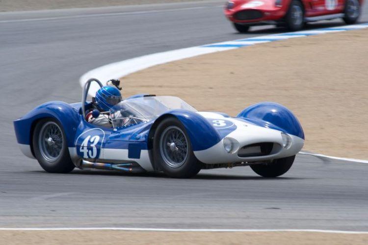Rare Maserati Tipo 60 Birdcage driven by Rob Walton.