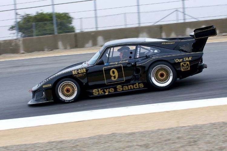 Rusty French in his 1979 Porsche 935.