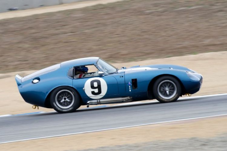 1965 Cobra Dayton Coupe driven by Rob Walton.