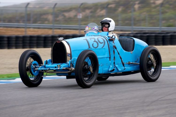 1926 Bugatti Type 39A driven by Charlie Shalvoy.