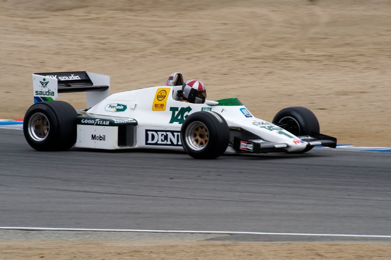 1983 Williams FW 08C Formula One driven by Eric Joiner.