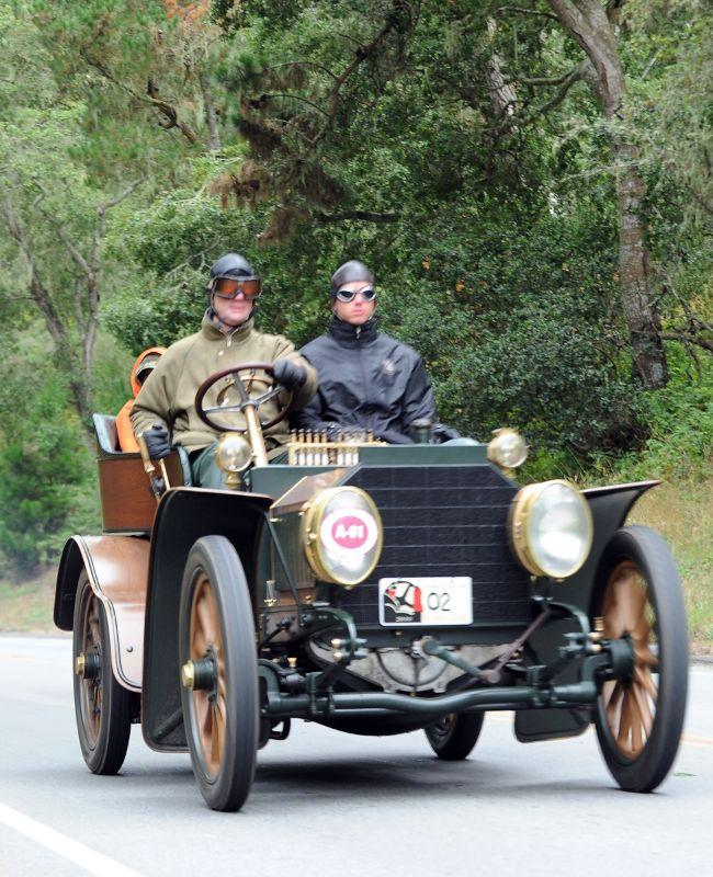 1902 Mercedes Simplex 28 HP Tourer, Keller Family