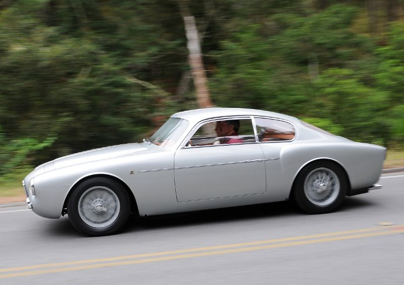 1956 Alfa Romeo 1900 Zagato Coupe, David and Ginny Sydorick
